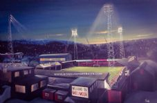 Rotherham Millmoor - 20'' x 30'' Box Canvas